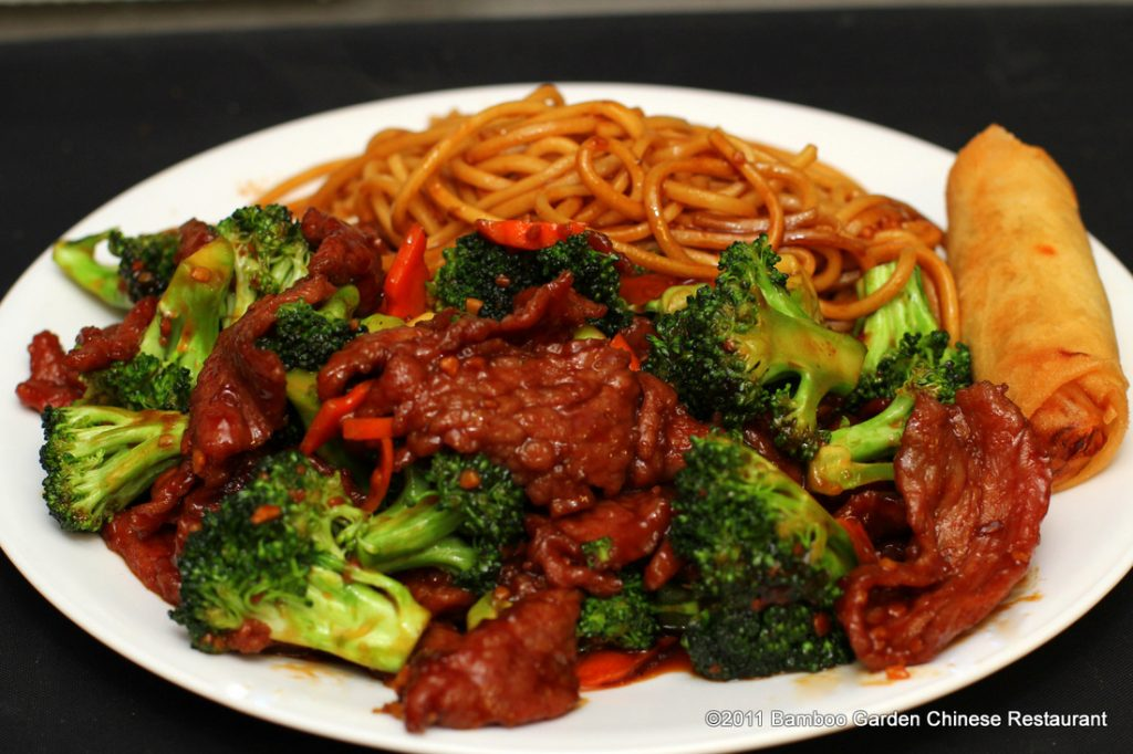Food at The Garden Asian Vegetarian Cuisine
