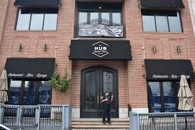 Front view of the  Hub