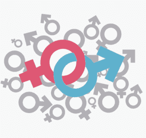 A look at human sexuality represented by male and female symbols