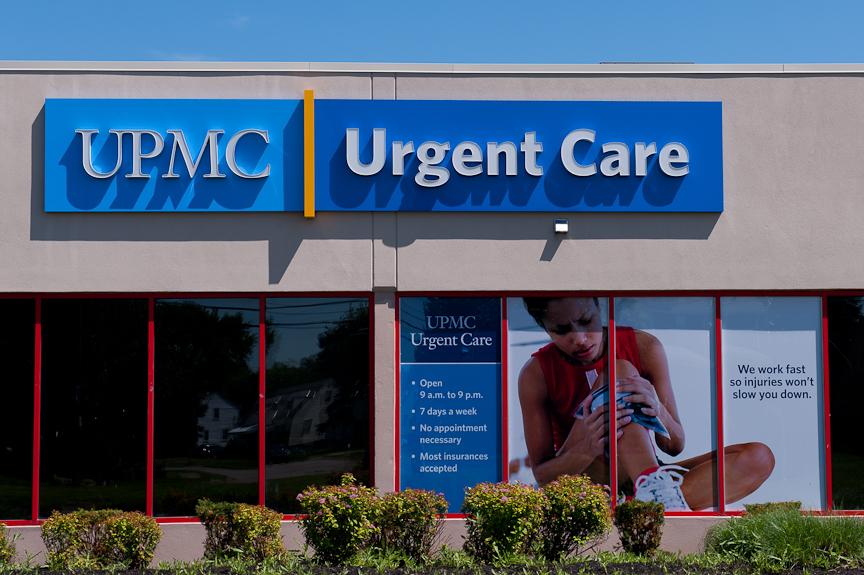 UPMC Urgent Care sign