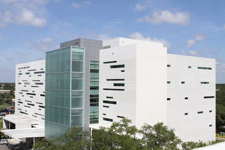 The Carol and Frank Morsani Center for advanced healthcare