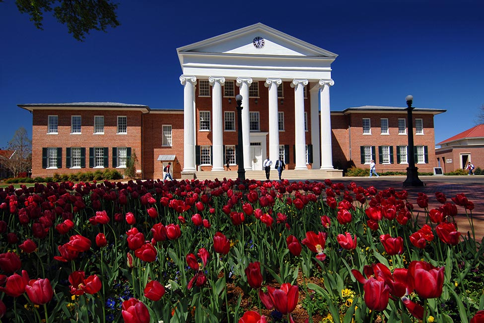 Restaurants & Cafes near or at the University of Mississippi