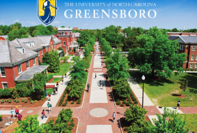 Restaurants and cafes near or at University of North Carolina Greensboro
