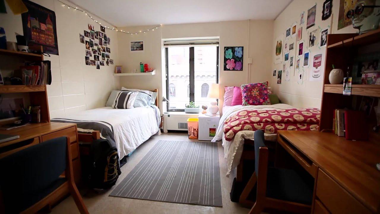 Weinstein Hall dorm room