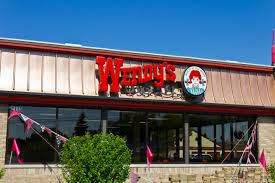Front view of the Wendy's