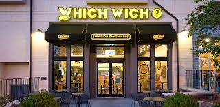 Front view of the Which Wich Superior Sandwiches