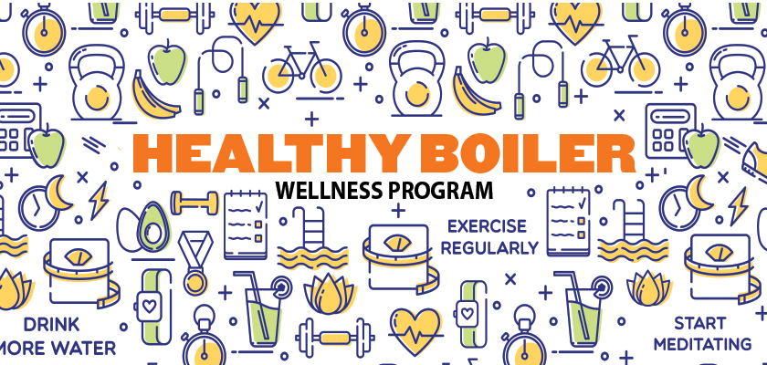 Healthy Boiler Wellness Program at Purdue University.