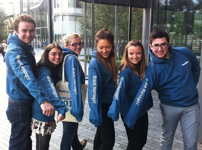 a group of student brand