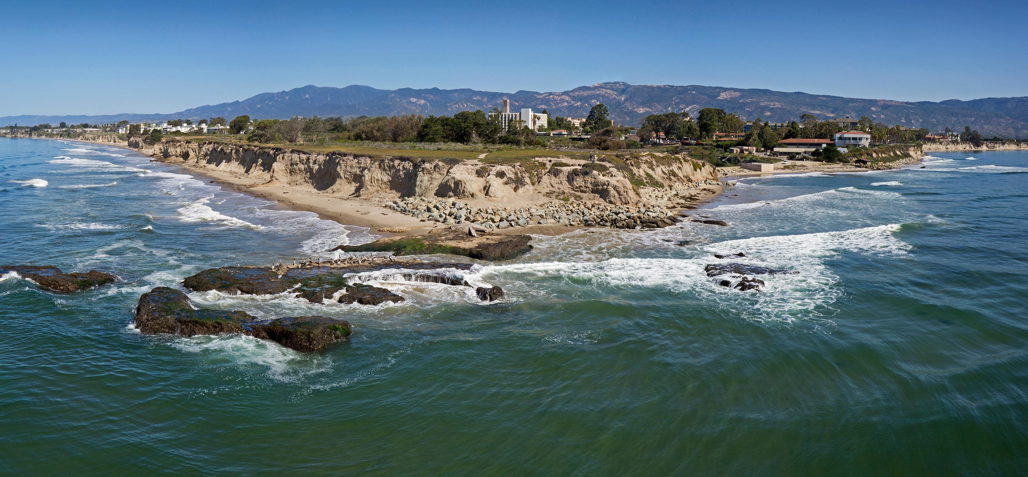 Edge of UC Santa Barbara campus