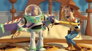 characters from the popular movie Toy Story, an example of computer animation
