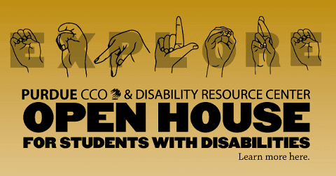 Open House at Disability Resource Center.