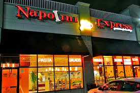 The outside of Napolino Express