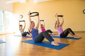 This image shows on the pilates classes that may be taught by a student.