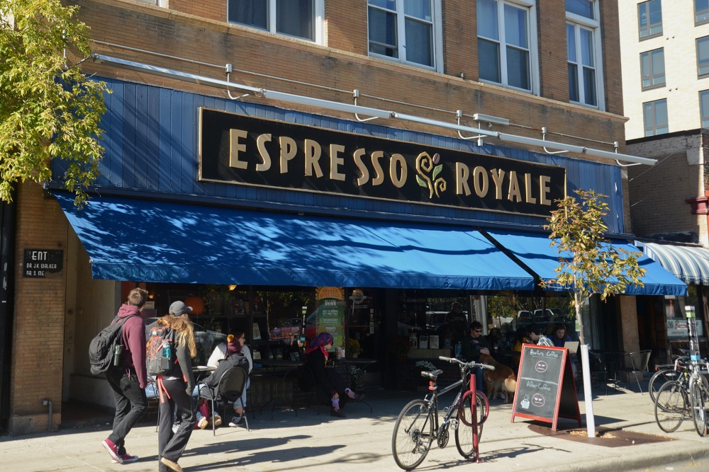 outside of espresso royale