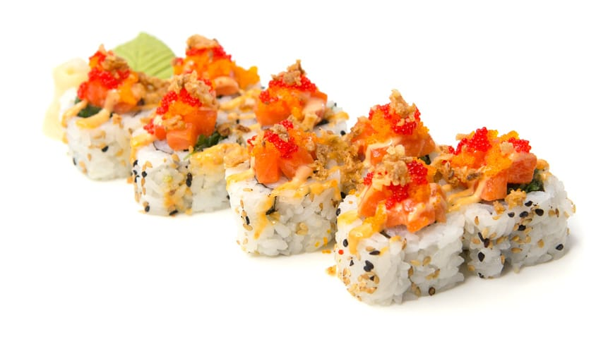 food from Bento Sushi