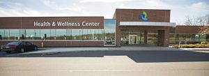 The building of health and wellness center