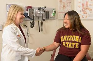 health services at Arizona State University