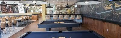 Student dining hall. interior
