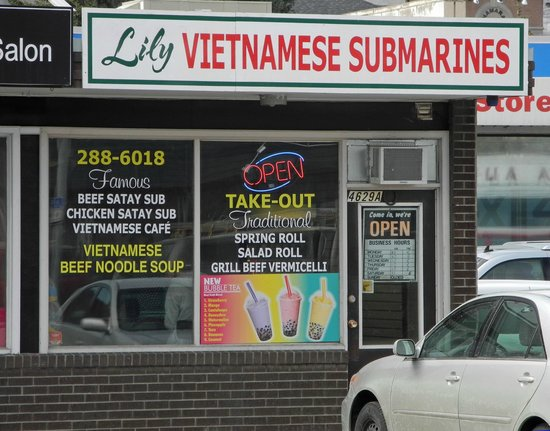 The entrance of Lily Vietnamese Submarines