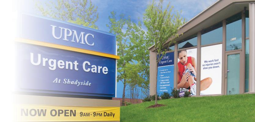 UPMC urgent care at Shadyside