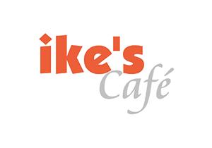 logo of ikes cafe