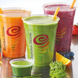 three different types of juices