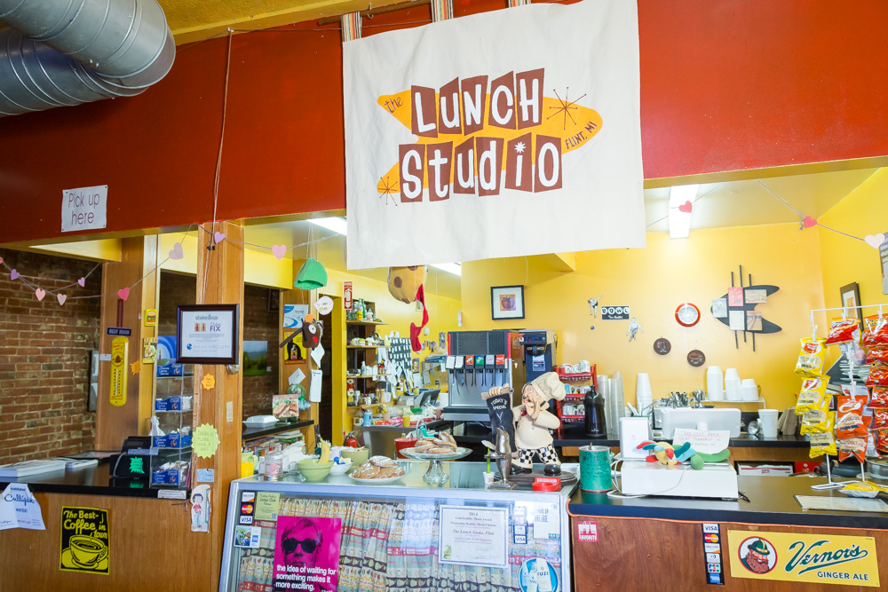 Lunch Studio is frequent by the students