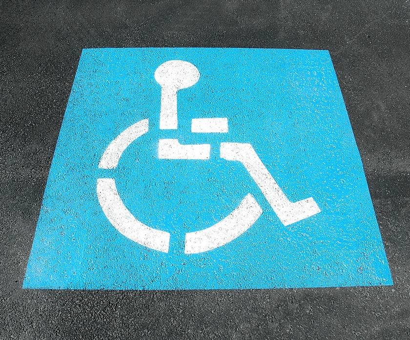 person with disability sign