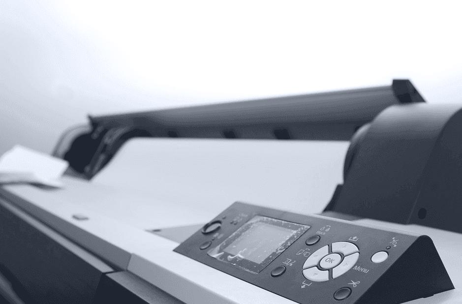 photo of a printer