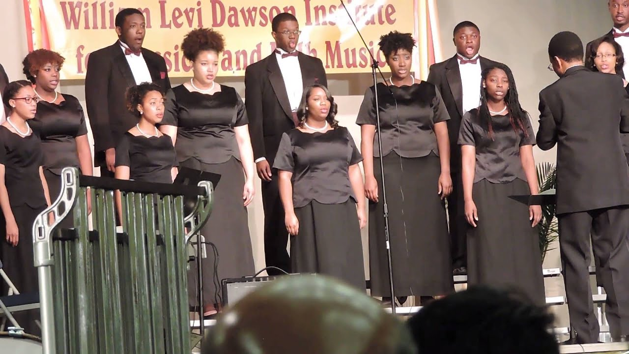 the golden voices choir performing