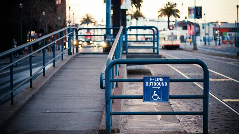 Persons with Disability ramp