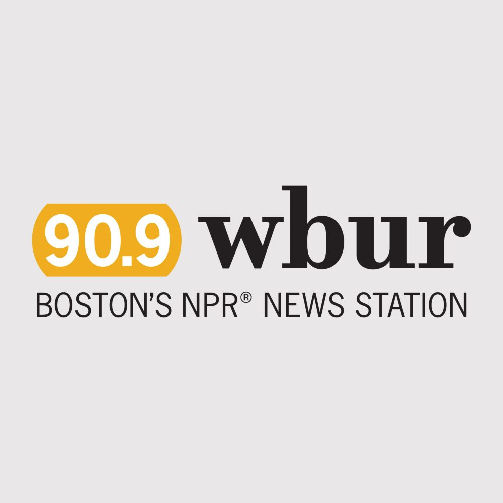This is the advertisement for the WBUR station.