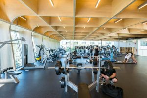 Picture of UBC's wellness center