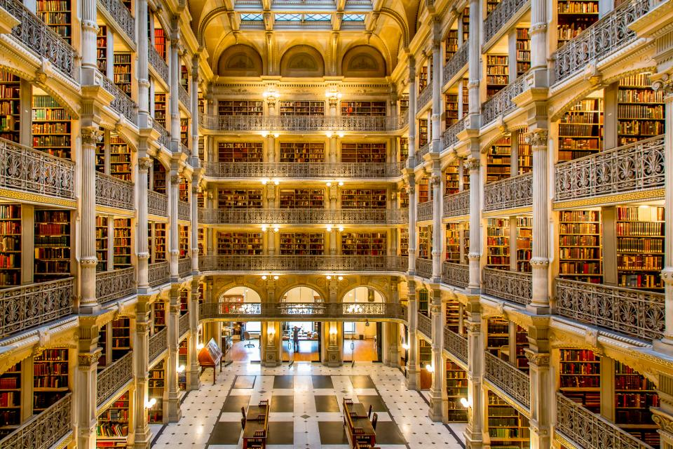 Johns Hopkins University Peabody Library