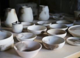 ceramics art in form of crockery