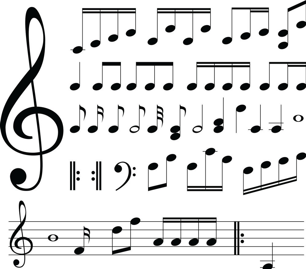 An activity for students in the music class