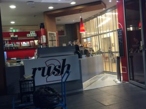 One of the Rush locations
