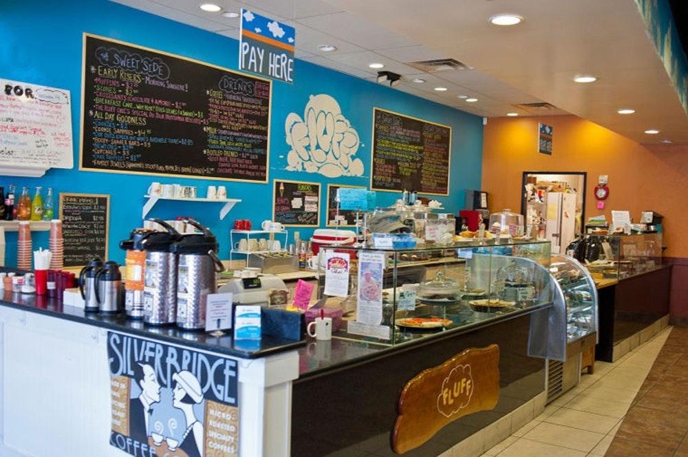 Fluff bakery interior