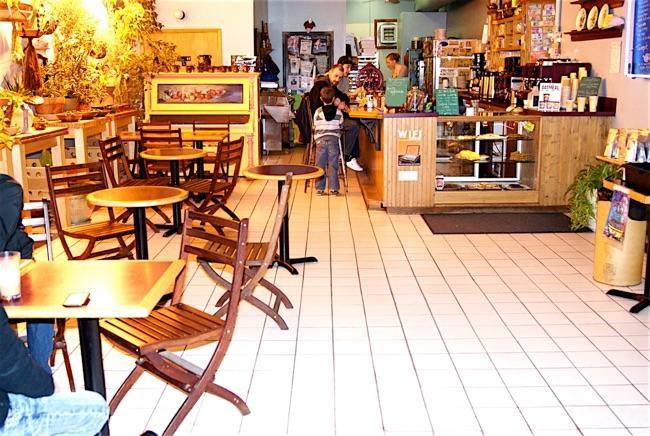 The interior of the Cafe Cassa