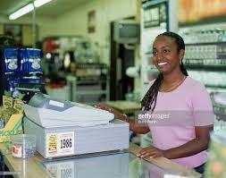 A store clerk