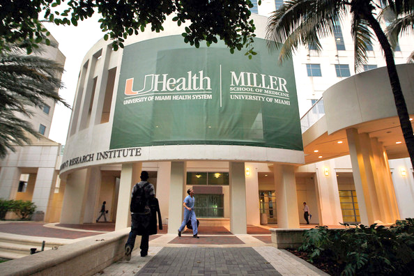 This is the College of Medicine at the University of Miami.