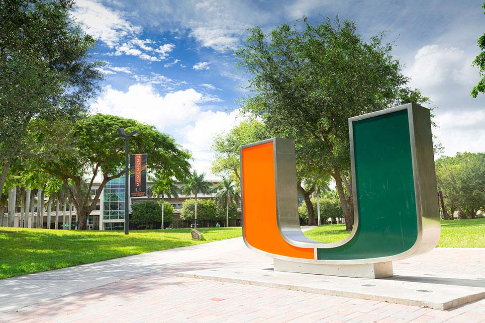 The University of Miami's symbol that helps to represent the university as a community.