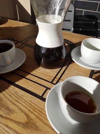Served Mokoko Coffee