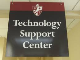 This is the sign you will see when you are looking for Tech Support at the University of Louisville. It is a student and staff friendly way to help fix your computer or other devices for no cost.