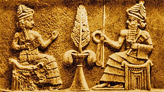Egyptian civilization portrait