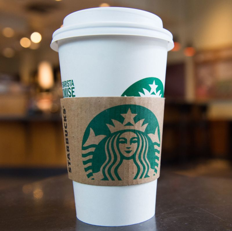 This is the classic Starbucks coffee cup that is widely seen everywhere. It is no different at the University of Louisville. Students are frequently visiting the store and showcasing these cups around campus.