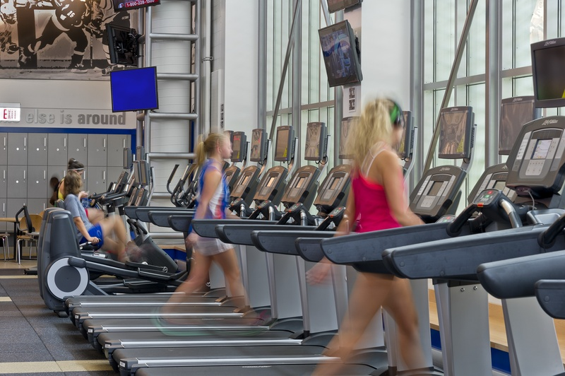 The Blue Devils Fitness Facility
