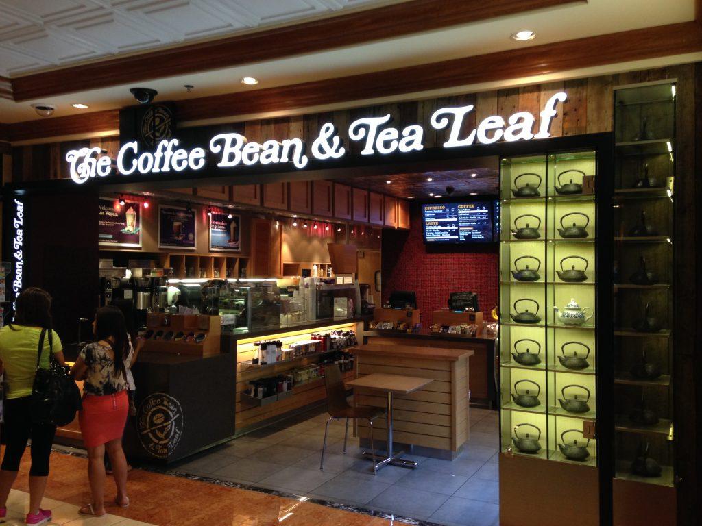 The Coffee Bean & Tea Leaf?