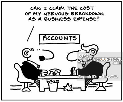 This is a carton representation of Cost Accounting
