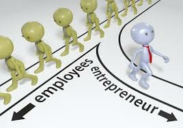 An illustration of diversion between entrepreneurship and employement